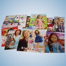 30 American Girl Catalogs 1996 & On
