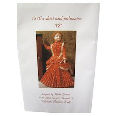 Ultimate Fashion Doll Alice Leverett Polonaise Pattern
