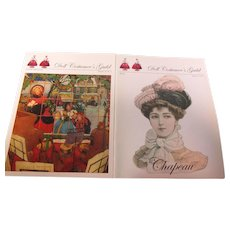 2 Doll Costumer's Guild Booklets Out of Print