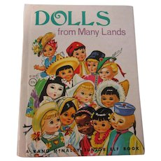 Small Vintage Dolls From Many Lands Book