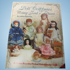 Doll Coiffures Using Feel o' Fleece Wig Making Booklet