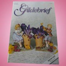 Gildebrief Doll Magazine No 2/2001 Huret Dress