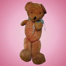 "Vintage 29"" Large Pink Teddy Bear"