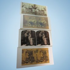 Lot of 9 Theriault's Stereo Bidding Cards