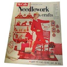Vintage 1962-62 McCall's Christmas Craft Magazine