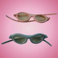 Vintage Pair of 50's Doll Sunglasses