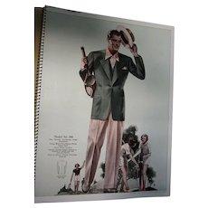 1939 Spring Summer Young Men Fashion Catalog VGC