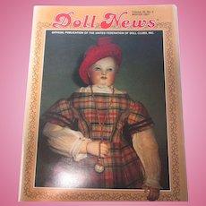UFDC Winter 1987 Doll News Huret Fashion