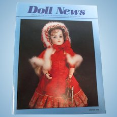 UFDC Doll News Magazine Winter 1999 Bru Dolls