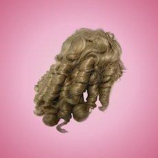 Vintage 16 Ash Blonde Ringlets Wig for Large Doll