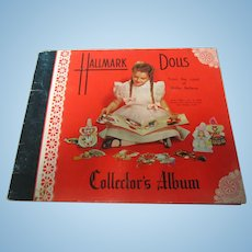1948 Hallmark Doll Cards Collector's Album Complete Mint