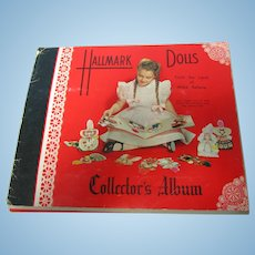 1948 Hallmark Doll Cards Collector's Album TLC