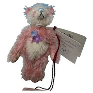 "Deb Canahm's 3 1/2"" Have a Heart Pastel  Bear MIB"