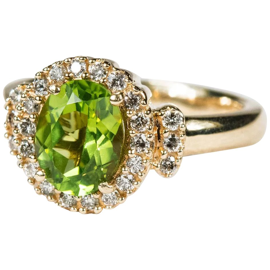 il ring cut august fullxfull halo peridot pave diamond birthstone engagement round rings gold yellow