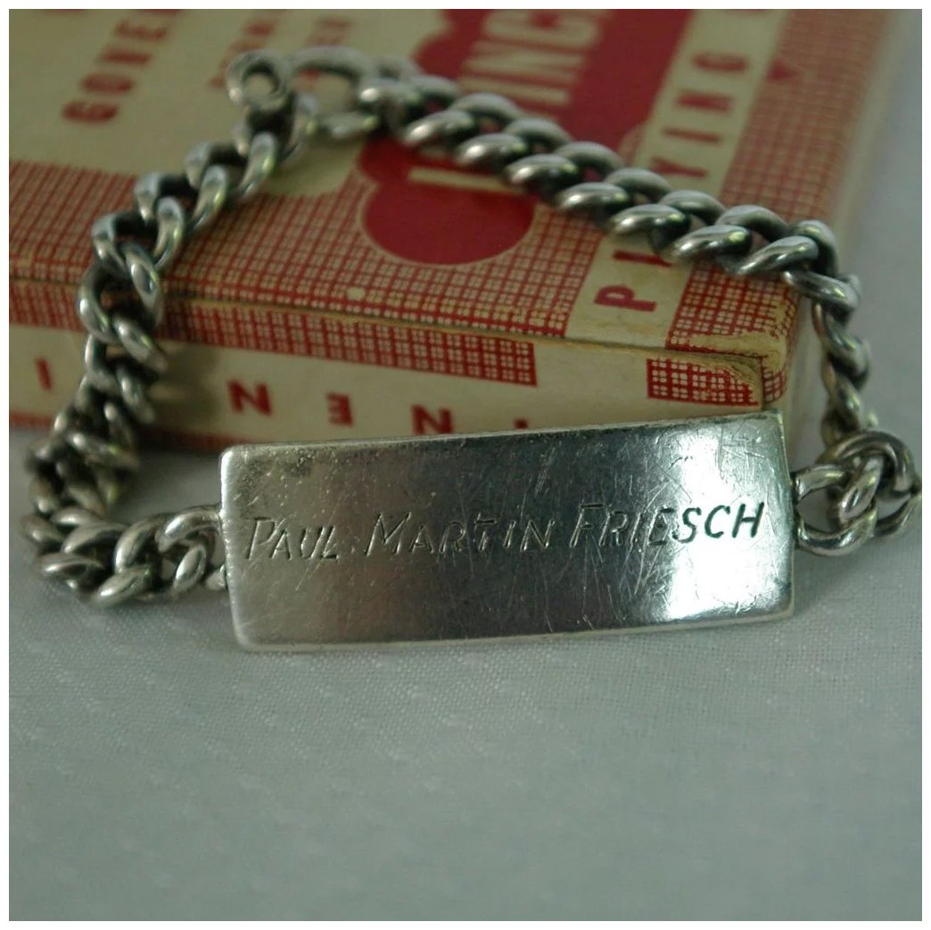 link bracelets in silver bracelet sterling id engravable identification