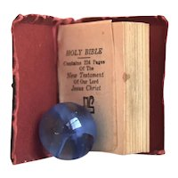 Circa 1900 Miniature Book, New Testament