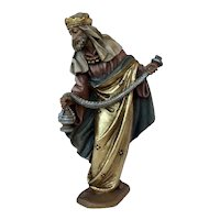 Anri Nativity Figure, The Standing King, Ulrich Bernardi