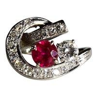 14k White Gold Ladies' Dinner Ring