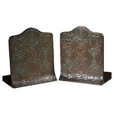 Tiffany Studios New York Bronze Zodiac Bookends