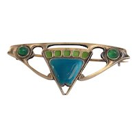 Albert Reimann Jugendstil, Art Nouveau Brooch/Pin