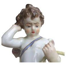 Meissen Cherub Cupid Putti Figurine