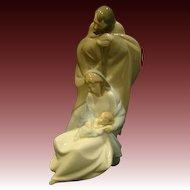 Lladro Nao porcelain figurine A Child is Born Mary Joseph Baby Jesus 1439