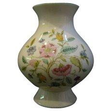 Minton Haddon Hall footed vase