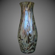 Kralik Bohemian iridescent art glass vase