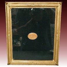 Elias Fine Pewter 18 karat gold electroplate picture frame