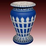 Wedgwood jasperware torches vase with flower arranger