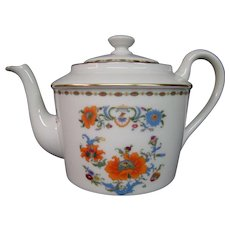 Ceralene Raynaud & Co Limoges Vieux Chine teapot