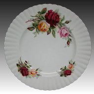 Royal Albert Kings Ransom dinner plate hard to find