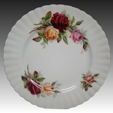 Royal Albert Kings Ransom salad plate hard to find
