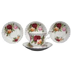 Royal Albert Kings Ransom cup and saucers hard to find
