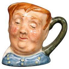 Royal Doulton miniature Fat Boy toby jug mug