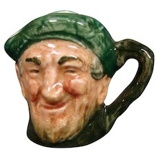 Royal Doulton miniature Auld Mac toby jug mug