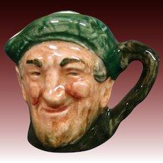 Royal Doulton miniature Auld Mac toby jug mug