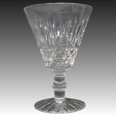 Waterford crystal Tramore pattern water goblet