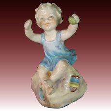 Royal Worcester porcelain figurine titled Sabbath Child #3256