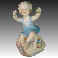 Royal Worcester porcelain figurine titled Sabbath Child #3256