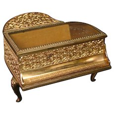 Covered baby grand piano musical jewelry box Laurel works