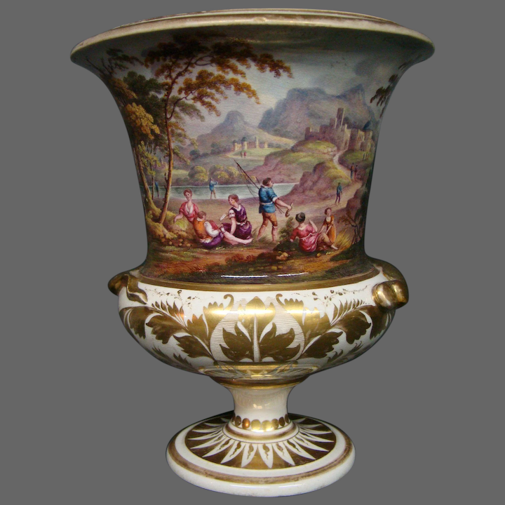 Antique Royal Crown Derby Hand Painted
