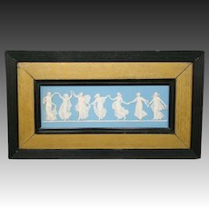 Wedgwood Jasperware antique Dancing Hours girls plaque 1780s