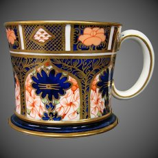 Royal Crown Derby imari handled mug