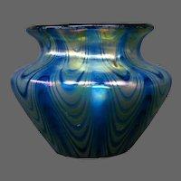 Loetz decorated phaenomen miniature art glass vase