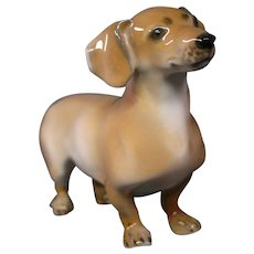 Rosenthal porcelain dachshund dog figurine model 960
