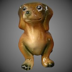 Goebel full bee dachshund figurine CH573