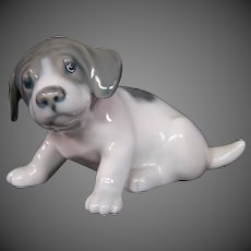 Royal Copenhagen porcelain dog figurine model 1311