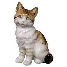 Hutschenreuther Selb cat figurine
