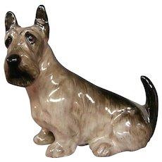 Royal Doulton miniature dog figurine Scottish Terrier K18